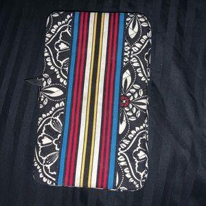 Vera Bradley Bermuda print wallet clutch
